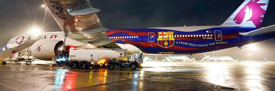 Fly with FC Barcelona